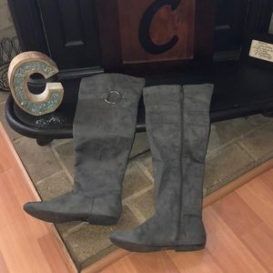 Gently Used Qupid Suede Boots!